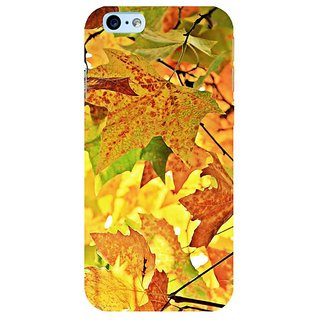Fuson Designer Phone Back Case Cover Apple IPhone 6s Plus :: Apple IPhone 6s+ ( Collection Of Leaves )