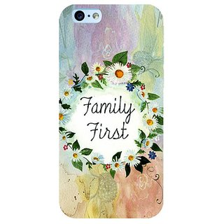 Fuson Designer Phone Back Case Cover Apple IPhone 6s Plus :: Apple IPhone 6s+ ( Family Is First Always )
