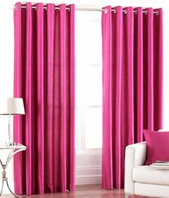 Styletex Set of 2 Long Door Eyelet Curtains