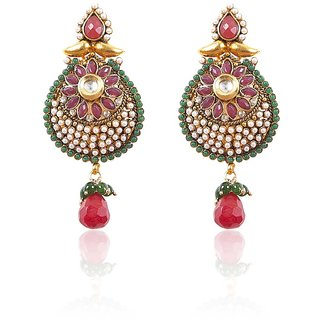Traditional Rajasthani Earring Antique Look