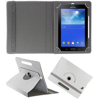 Gocart Flip Cover For Tescom Bolt 3G (White)
