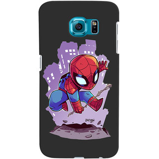 Stubborne Samsung Galaxy S6 Cover / Samsung Galaxy S6 Covers Back Cover Designer Printed Hard Plastic Case