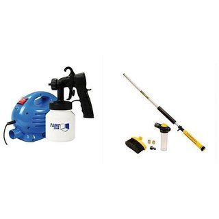 Paint Zoom Paint Sprayer With Water Zoom High Pressure Cleaning Tool Gun