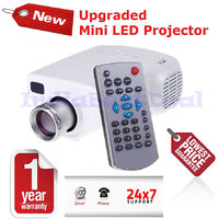Mini LED Projector For TV,DVD,PC With SD,USB,AV In, VGA