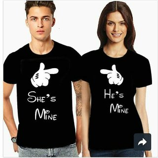 Couple Tshirt - Set of 2 - For Men and Women