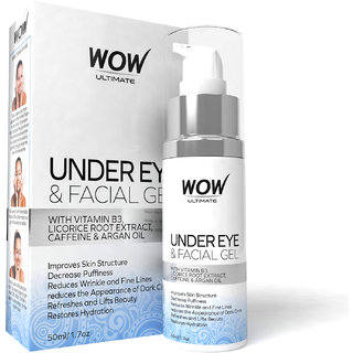 WOW ULTIMATE UNDER EYE  FACIAL GEL (PACK OF 1)