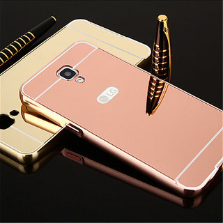 purchase cheap 0b474 3c5d7 Buy Aluminum Metal Bumper + PC Mirror Back Cover Case For LG X ...