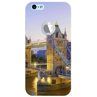 Fuson Designer Phone Back Case Cover Apple iPhone 6S (Logo View Window Case) ( Travelling Is A Hobby )