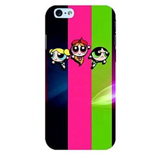 Fuson Designer Phone Back Case Cover Apple iPhone 6S ( The Powerpuff Girls )