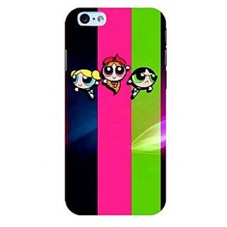 Fuson Designer Phone Back Case Cover Apple iPhone 6S ( The Powerpuff Girls )