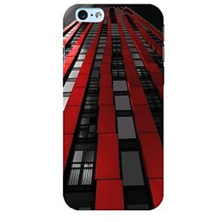 Fuson Designer Phone Back Case Cover Apple iPhone 6 Plus :: Apple iPhone 6+ ( Patterns In The Building )