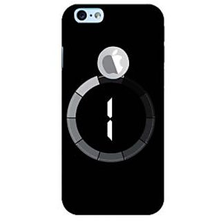 Fuson Designer Phone Back Case Cover Apple iPhone 6S (Logo View Window Case) ( Countdown For A Surprise )