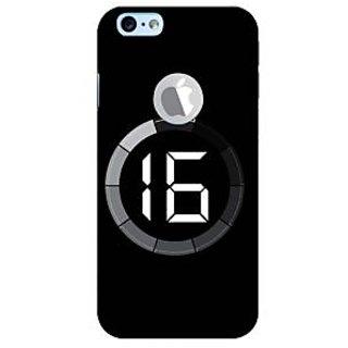Fuson Designer Phone Back Case Cover Apple iPhone 6S (Logo View Window Case) ( Lessser And Lesser )