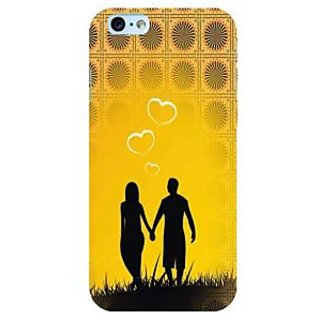 Fuson Designer Phone Back Case Cover Apple iPhone 6S ( A Couple Walking Hand In Hand )