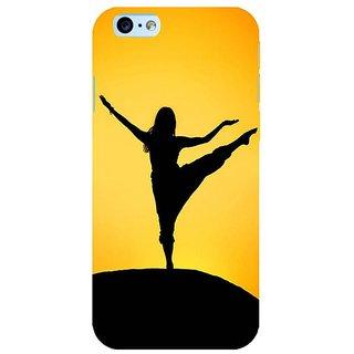 Fuson Designer Phone Back Case Cover Apple iPhone 6S ( Yoga Girl )