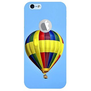 Fuson Designer Phone Back Case Cover Apple iPhone 6S (Logo View Window Case) ( Up And Away )