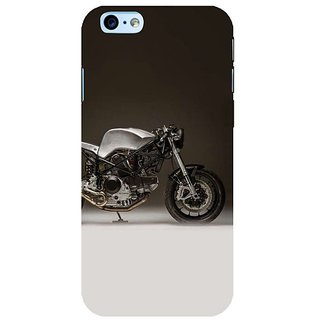 Fuson Designer Phone Back Case Cover Apple iPhone 6S ( Classy Bike Engine )