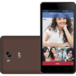 LYF Wind 4S (2 GB, 16 GB, Brown)