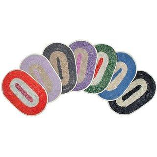 Anjani's Pack of 4 Multicolor Doormats