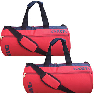 0f3249ca485a Buy Kvg Red Combo Gym Bags Online - Get 67% Off