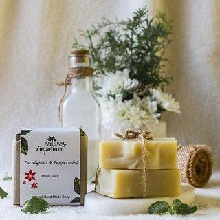 Nature's Emporium Eucalyptus Peppermint Natural Handmade Soap