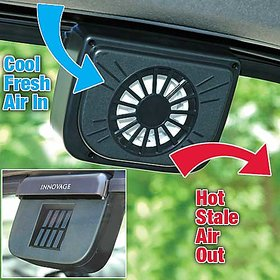 Solar Sun Auto Fan Ventilator Auto Cool Air Vent