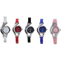 WC EVER GREEN COMBO OF 5 ANALOG  WATCH FOR WOMEN GIRL