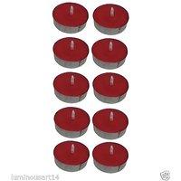 Atorakushon Scented Red Tealight T-Lite Candles Smokele