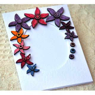 Paper Quilling Handmade Frame