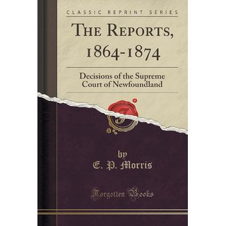 The Reports, 1864-1874
