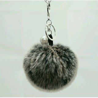 Buy PADMAHASTHA + Keychain   bag chain + pom pom + black and white ... c5a2449c3