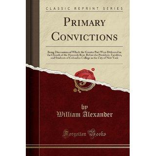 Primary Convictions