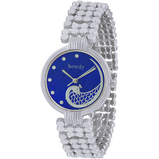 howdy Unique Analog Blue  Dial Watch- for - Women's  Girl's ss398