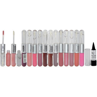 Midie Non Transfer Lipstick Longlasting 24h Pack of 12 And Free Kajal-TOGG-B