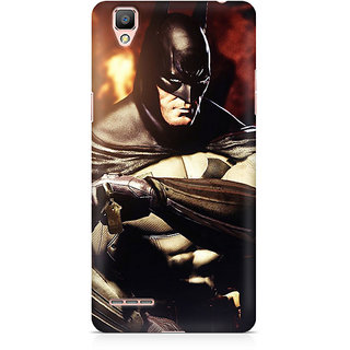 CopyCatz Batman Arkham City Nonchalant Premium Printed Case For Oppo F1 Plus