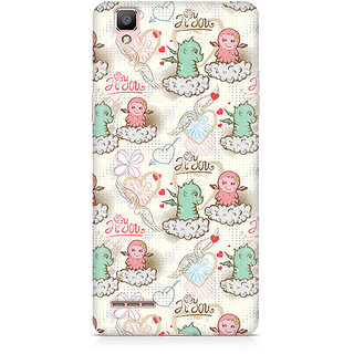 CopyCatz Cute Dragon Love Premium Printed Case For Oppo F1