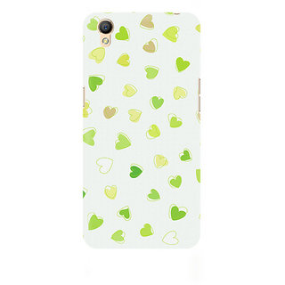 CopyCatz Watercolor Hearts Premium Printed Case For Oppo A37