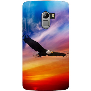 Saai Creations Multicolor Graffiti  Illustrations Lenovo Vibe K4 Note Plastic Back Cover SCK4225