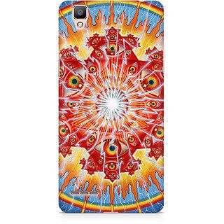 CopyCatz Psychedelic Eyes Premium Printed Case For Oppo F1