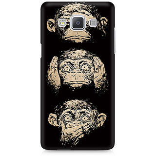 CopyCatz Three Wise Monkeys Premium Printed Case For Samsung A7
