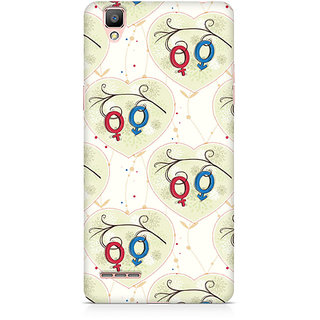 CopyCatz Male And Female Premium Printed Case For Oppo F1