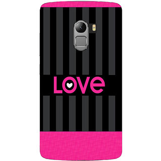 Saai Creations Multicolor Graffiti  Illustrations Lenovo Vibe K4 Note Plastic Back Cover SCK4209
