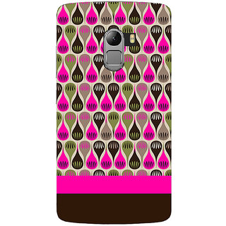 Saai Creations Multicolor Graffiti  Illustrations Lenovo Vibe K4 Note Plastic Back Cover SCK4632