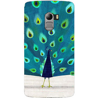 Saai Creations Multicolor Graffiti  Illustrations Lenovo Vibe K4 Note Plastic Back Cover SCK4011