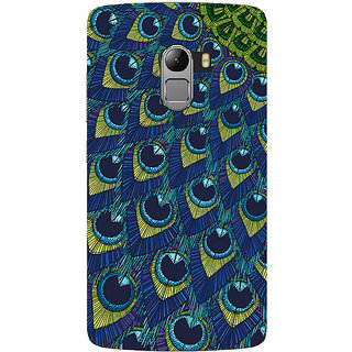 Saai Creations Multicolor Graffiti  Illustrations Lenovo Vibe K4 Note Plastic Back Cover SCK5210