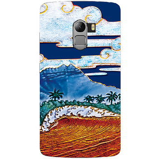 Saai Creations Multicolor Graffiti  Illustrations Lenovo Vibe K4 Note Plastic Back Cover SCK5211