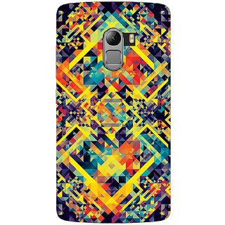 Saai Creations Multicolor Graffiti  Illustrations Lenovo Vibe K4 Note Plastic Back Cover SCK4709