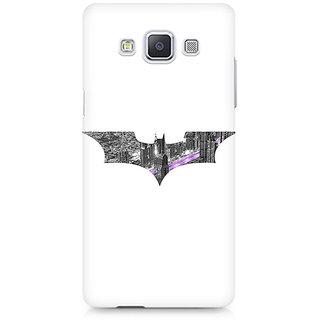 CopyCatz Bat Logo Arkham City Premium Printed Case For Samsung A5