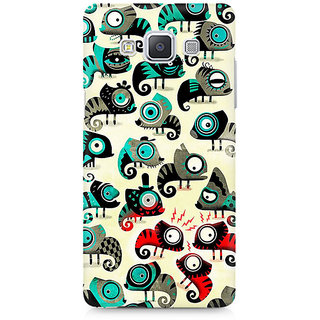 CopyCatz Colorful Chameleon Premium Printed Case For Samsung A7