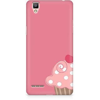 CopyCatz Cute Cupcake Pink Premium Printed Case For Oppo F1 Plus